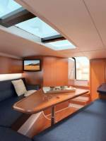 Corsair 36 European edition tender yacht interior