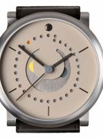 Och und Junior Moonphase Platina watch cream dial option
