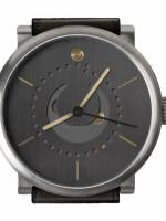 Och und Junior Moonphase Platina watch dial
