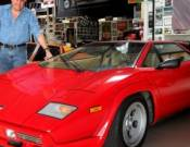 Jay Leno With Countach