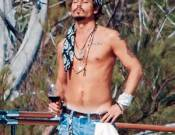 Johnny Depp on vacations