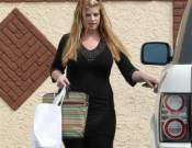 Kirstie Alley drives Range rover