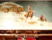 Firehouse Mantle painting in the ranch