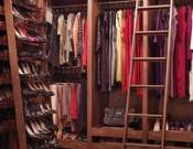 The wardrobe of Brooke
