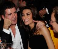 Simon Cowell, Mezhgan Hussainy and Richard Desmond