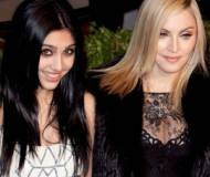 Madonna and Lourdes together