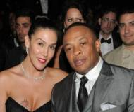 Dr. Dre with wife Nicole Threatt