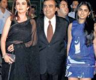 Isha Ambani at IPL 1 season