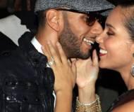 Alicia Keys with her hubby
