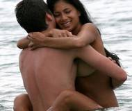 Nicole Scherzinger with her man