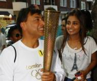 Vanish with her father, Lakshmi Mittal