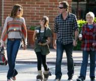 Cindy Crawford and her husband, Rande Gerber , son Presley and daughter Kaia