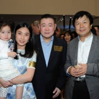 Joseph Lau and family