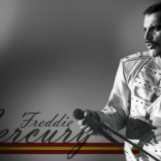 Mercury was highly applauded for singing and his lyrics for British band, Queen
