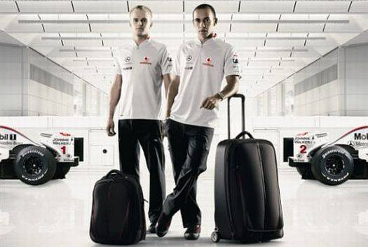 mclaren samsonite
