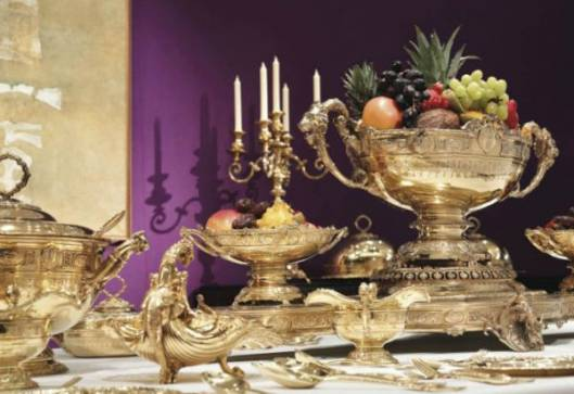 Maharaja of Patiala's Extravagant Banquet Service Worth $2.9 Million at Display