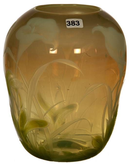 Tiffany art glass vase fetched $60,000 at Woody Auction