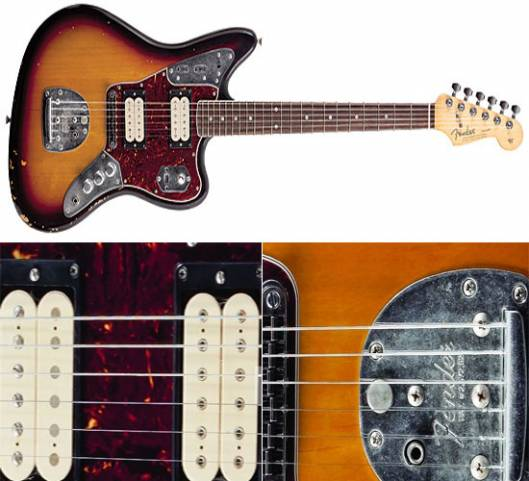 Fender Guitars pays tribute to Kurt Cobain through limited edition Jaguar version