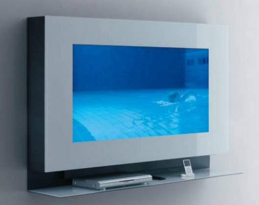 Acerbis all-new minimalistic wall mounted TV cabinet is perfect for the iGeneration