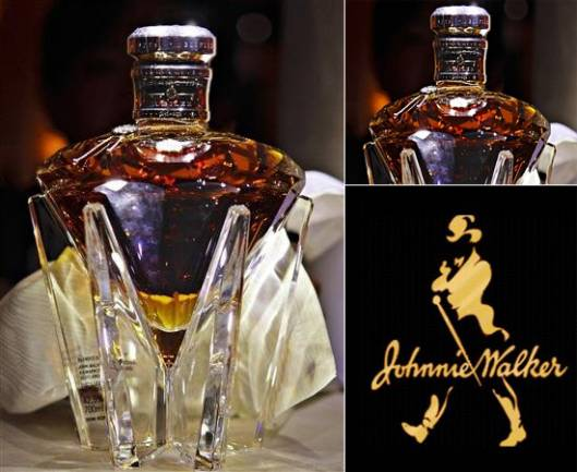 Johnnie Walker's Diamond Jubilee whisky on sale in Singapore