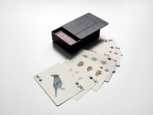 Chinese Luxury Brand Shang Xia teams up with Artist Lin Xi for a limited edition poker set
