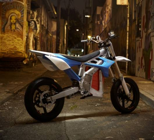 $15,000 BRD Redshift SM Electric Motorcycle is fast and furious