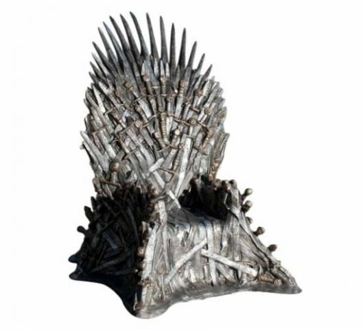$30,000 Game of Thrones Replica Iron Throne