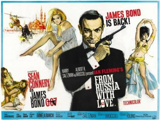 Rare James Bond movie posters up for auction