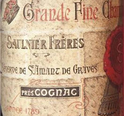 Vintage Cognac from the year of the French Revolution 1789 is up for grabs