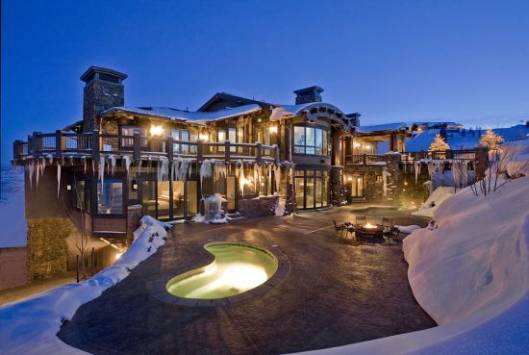 The ski-in/ski-out chalet at Deer Valley Resort in Park City, Utah listed for $21.9 million