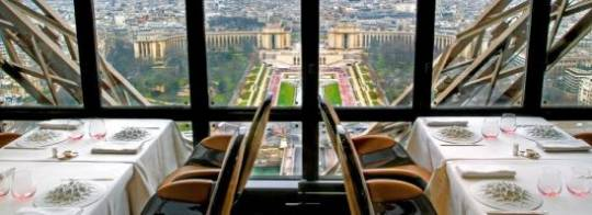 Eiffel Tower's Jules Verne restaurant decor to go on auction