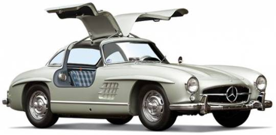 Vintage Mercedes-Benz Gullwing