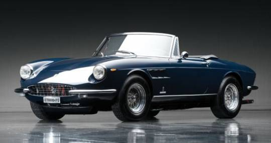 1967 Ferrari 330 GTS of which only 99 were made