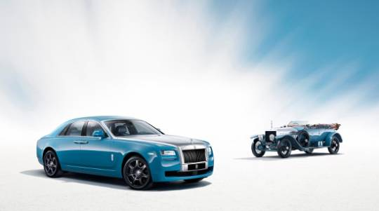 Rolls-Royce Ghost Alpine edition will be inspired from the winning Silver Ghost model from 1913
