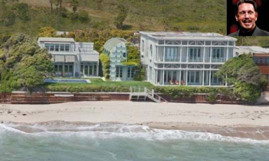 Malibu House Larry Ellison
