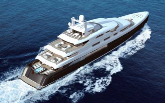 Fraser Yachts Illusion luxury yacht