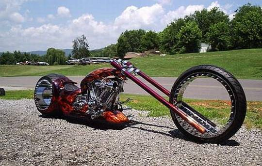 spokeless motorcycle 1