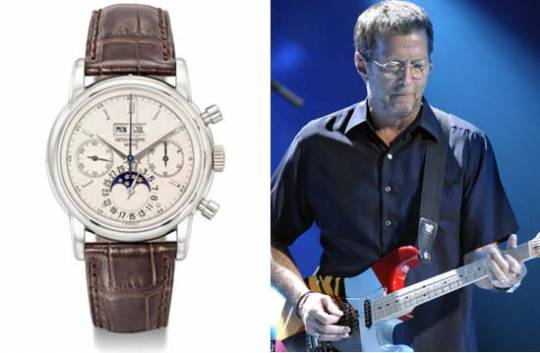Eric Clapton's platinum Patek Philippe watch to auction for $4.3 million