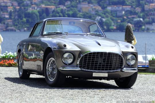 1953 Ferrari 250 Europa Coupe Vignale was first bought into America in 1954