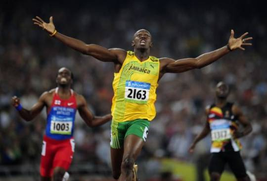 Olympic champion Usain Bolt's running spikes auctioned for $39,000