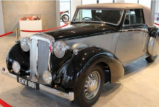 Sir Winston Churchill's 1939 Daimler DB18 has been sold in Germany for $614,487