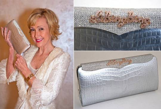 Lana Marks and the diamond studded Cleopatra clutch