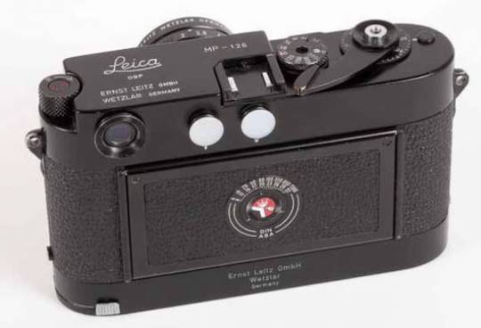 Leica MP-126 auction