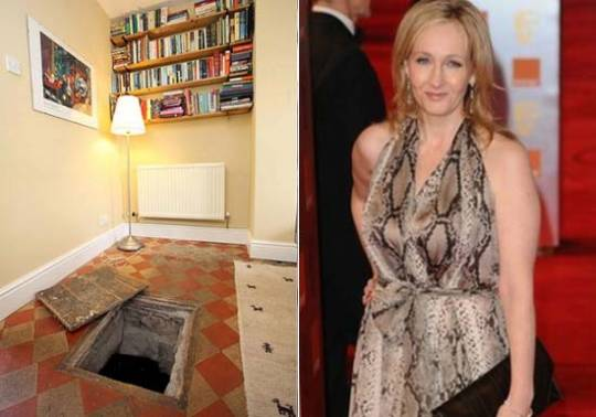 JK Rowling's older home