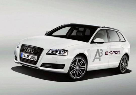 Audi All Electric E-Tron A3 Concept Car