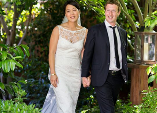 Facebook founder Mark Zuckerberg marries gf Priscilla Chan in a surprise ceremony