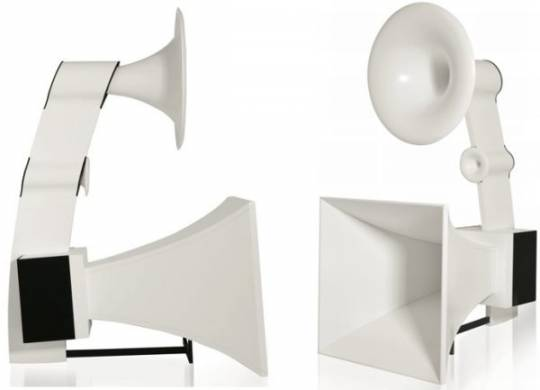 musique concrete grande castine horn speakers