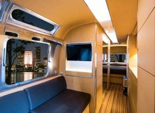 Airstream to unveil 'Land Yacht' Concept Trailer inspired by the luxury yachts