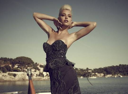Debbie Wingham's $5.6 Million Black Diamond Dress