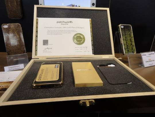 24ct gold iPhone case